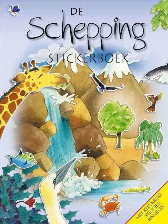 Schepping Stickerboek stickers Stikkers Stikkerboek
