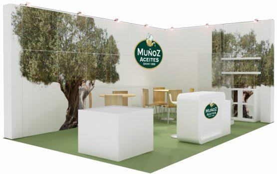 Geef Logos donatie beurs stand design ontwerp