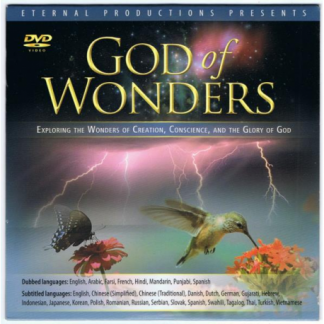dvd god of wonders